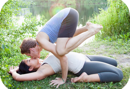 LOVERS' YOGA = GREAT SEX